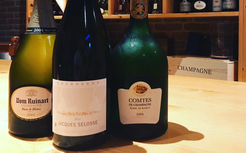 ruinart selosse - champagne